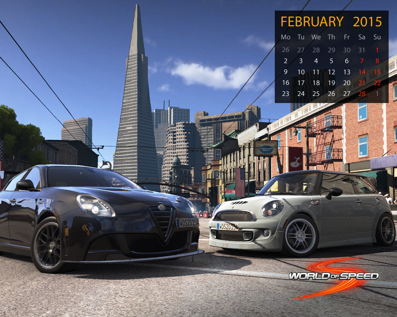 World of Speed February Wallpapers 1280x1024