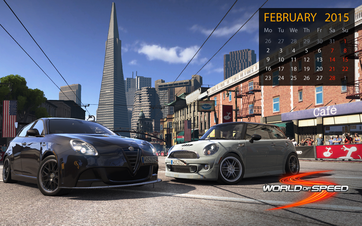 World of Speed February Wallpapers 1440x900