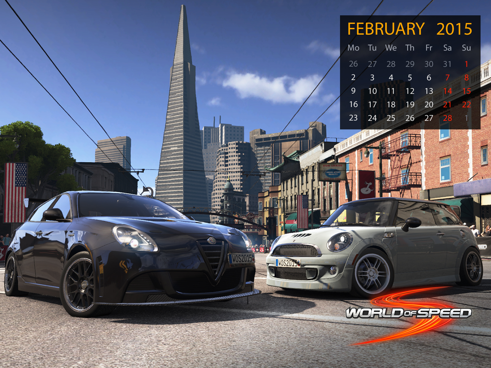 World of Speed February Wallpapers 1600x1200