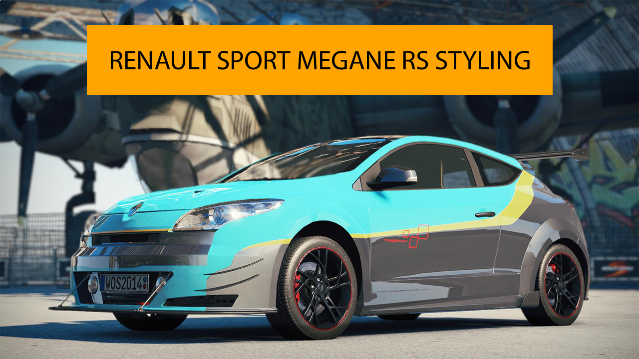 styling the renault sport megane rs. Black Bedroom Furniture Sets. Home Design Ideas